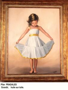 Peinture à l'huile de Pilar Pradales